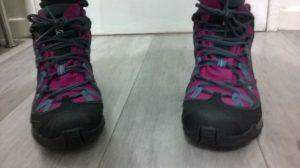 chaussures de marche Salomon