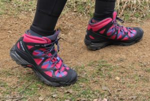 chaussures marche Salomon