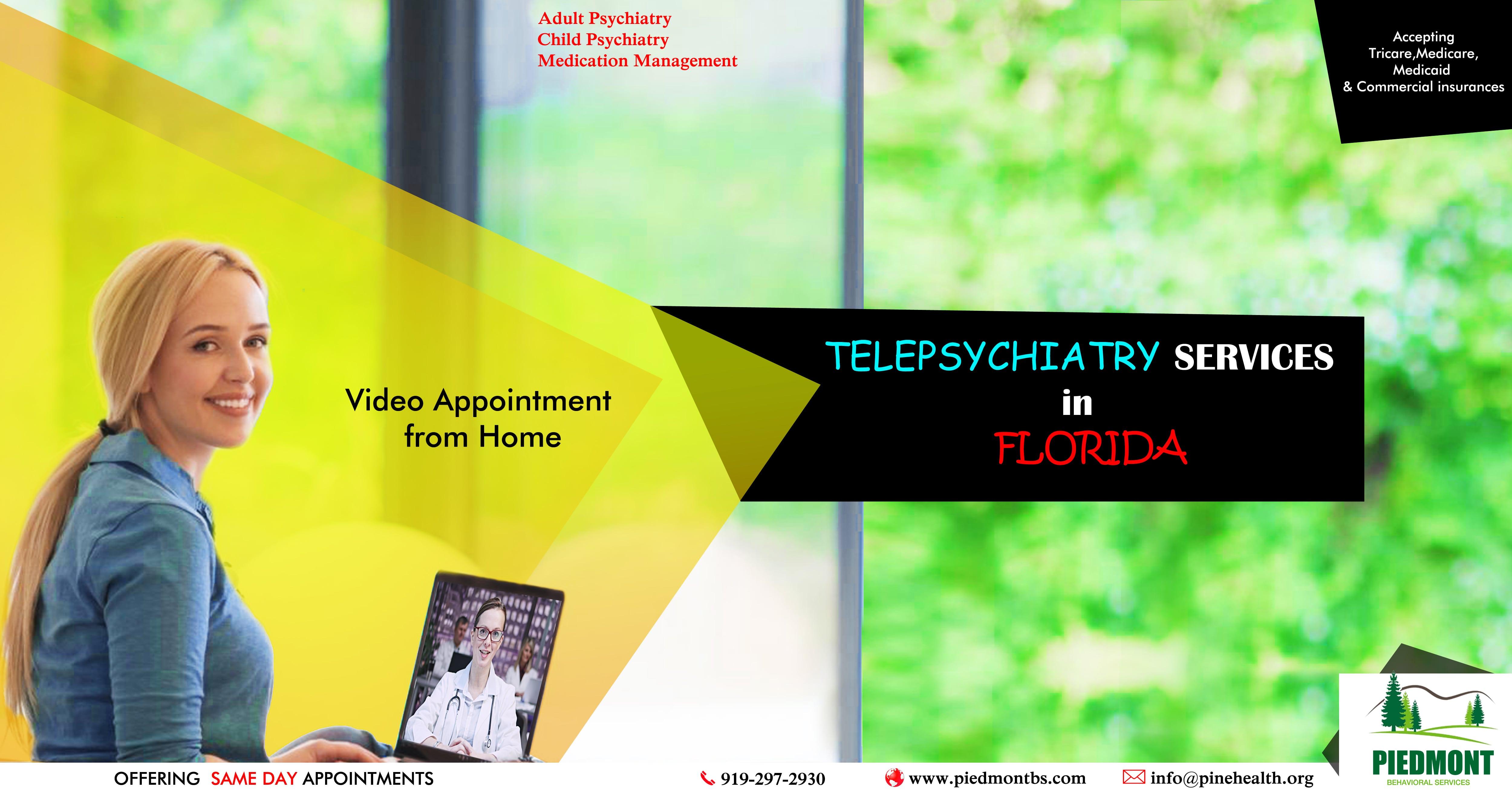 Telepsychiatry in Florida-Piedmont Behavioral Services