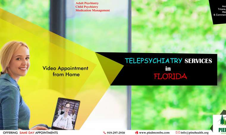 Telepsychiatry in Florida-Piedmont Behavioral Services