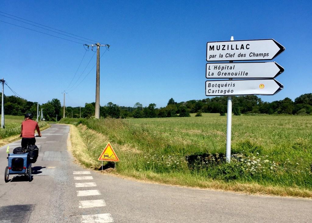 muzillac la clef des champs vélo randonnée morbihan Loire-Atlantique
