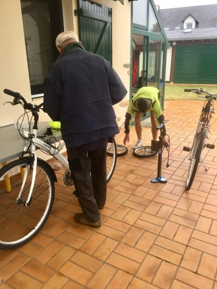 préparatifs voyage vélo avec un chien velodyssee