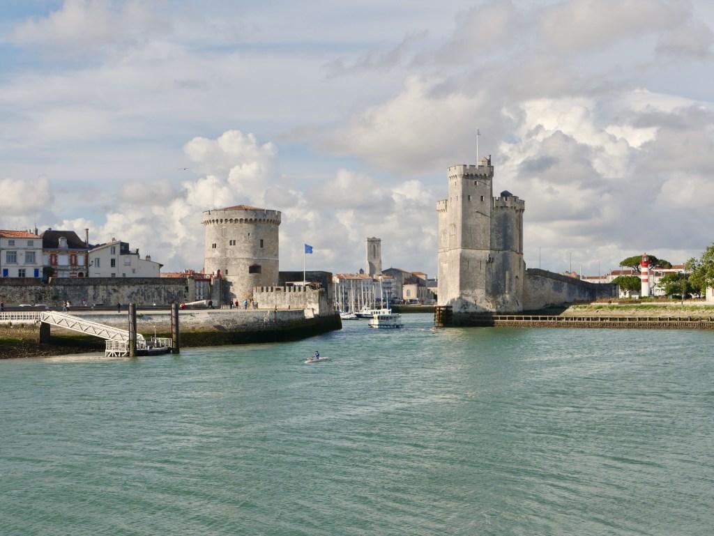 deux tours de La Rochelle