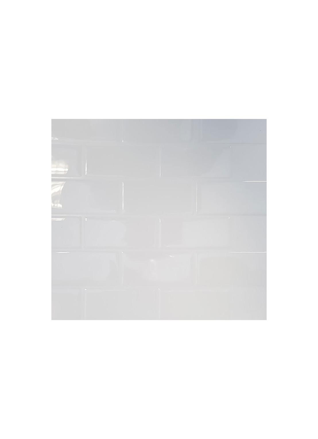 carrelage adhesif 3d faience blanc