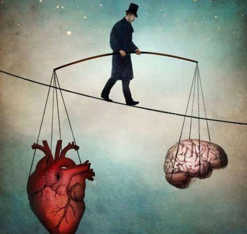 Wewnętrzny spokój - równowaga między umysłem i sercem.