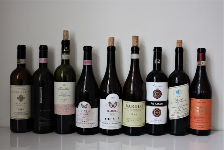 Barolo Night Oslo Lineup
