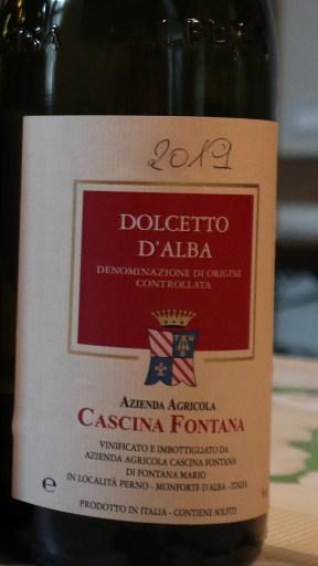 Cascina Fontana Dolcetto 2019