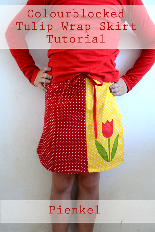 Tulip Wrap Skirt – Tutorial and Free Template Download