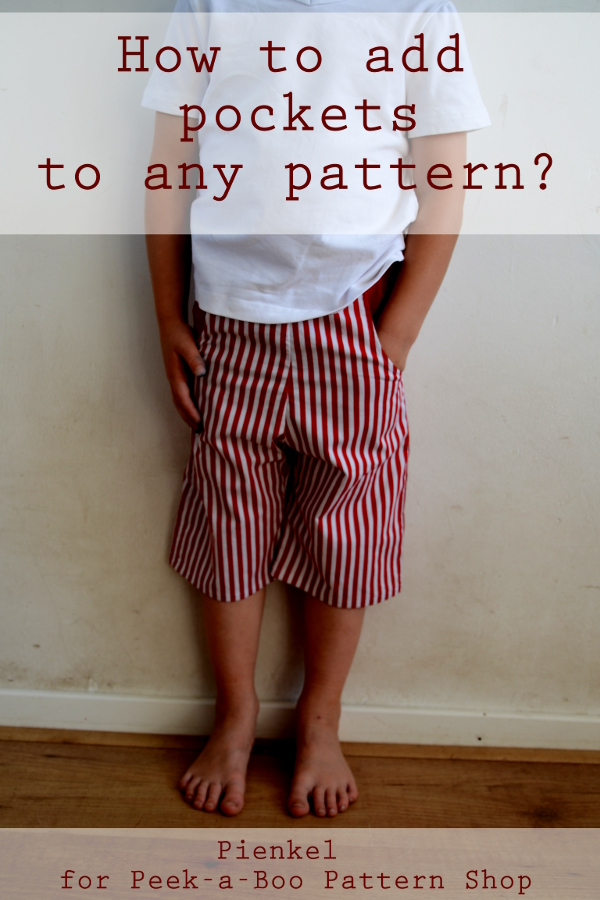 How To Add Pockets To Any Pattern – Contributor Post at Peek-a-Boo