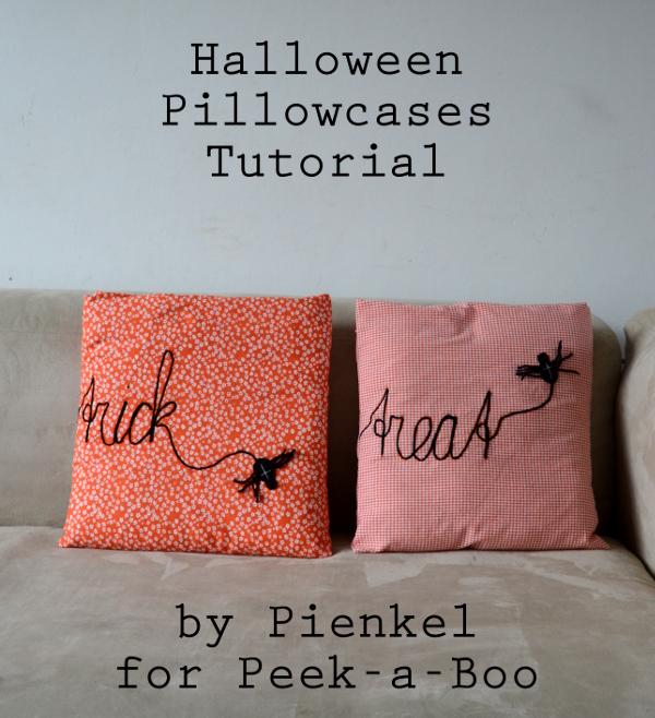 Halloween Pillowcases – Tutorial for Peek-a-Boo