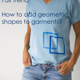 How to add geometric shapes to garments? Tutorial by Pienkel for UpCraft Club