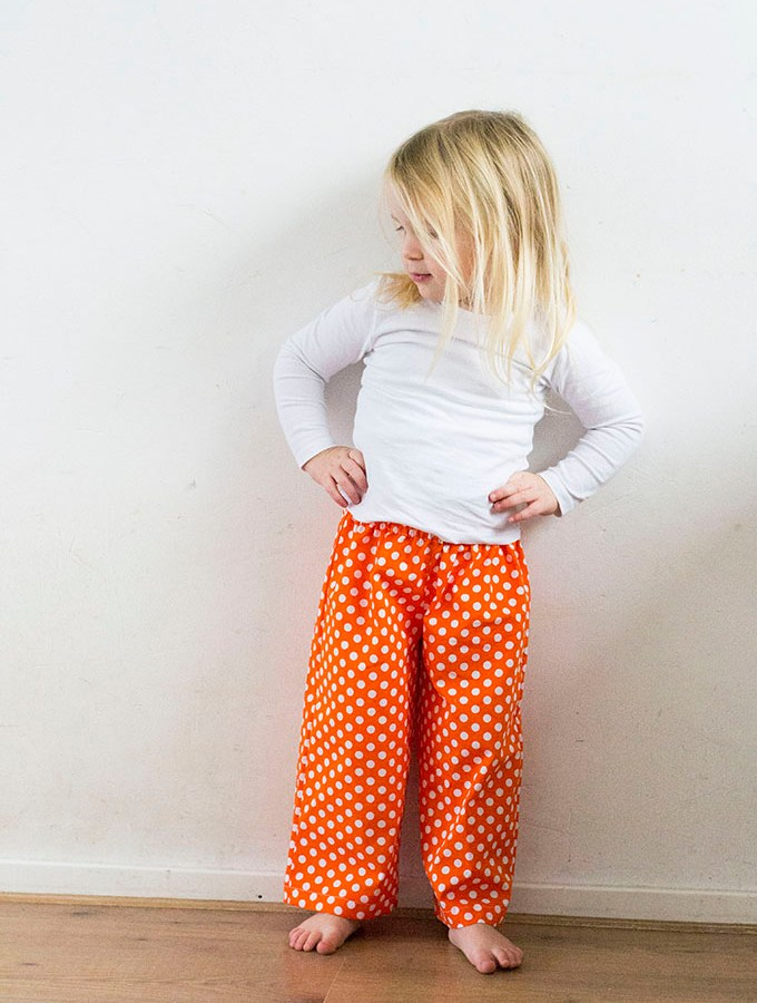 Pajama Party Pants - Pattern by Peek-a-Boo, sewn by Pienkel