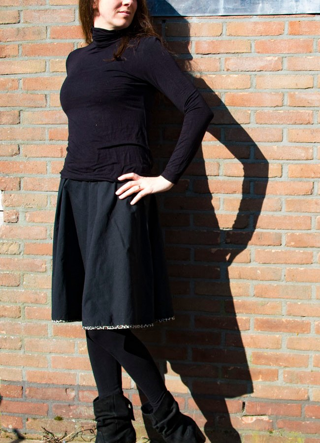 Dyyni Skirt for Colder Days