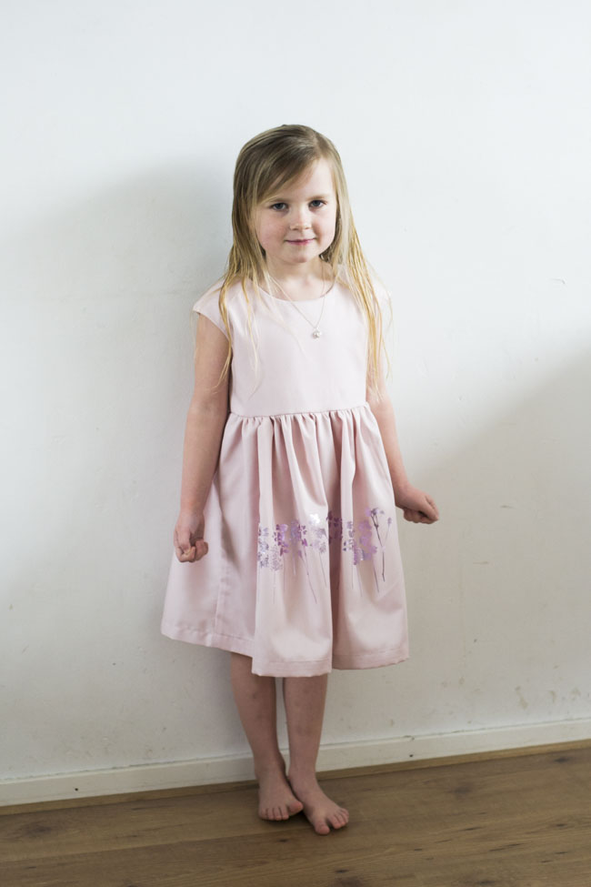 Party Animal - Lotte Martens Blog Tour- Caroline Party Dress sewn by Pienkel
