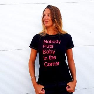 Nobody puts Baby in the Corner t-shirt diy - Pienkel blog