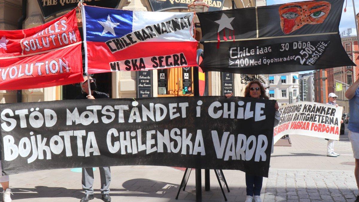 Diálogo establecido con Embajada de Suecia en Santiago de Chile sobre la situación de los presos políticos de la revuelta