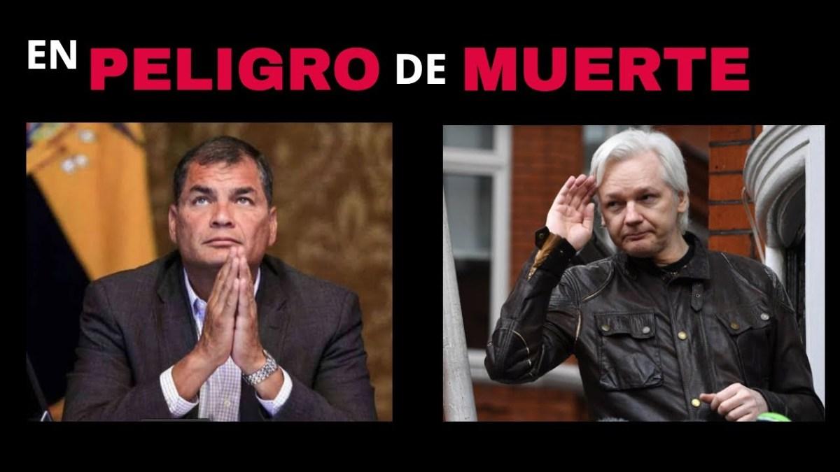 Amenaza de muerte al ex Presidente Correa, temen por su vida