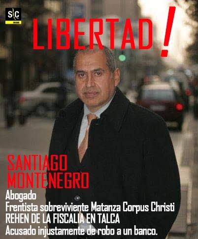 El confinamiento es la amenaza: El caso de Santiago Montenegro