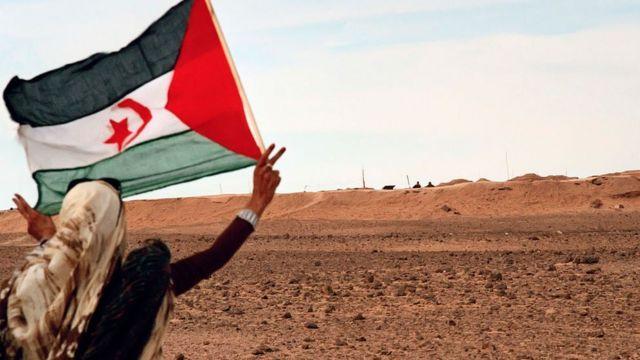 Trumpistas supremacistas en el Sáhara Occidental ocupado por Marruecos