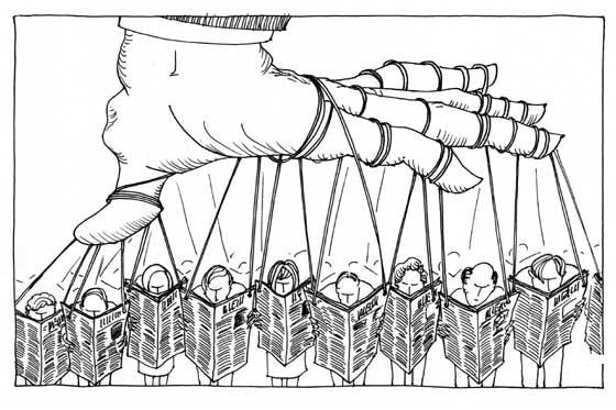 Bloqueo de la libertad de prensa en dos tercios del mundo