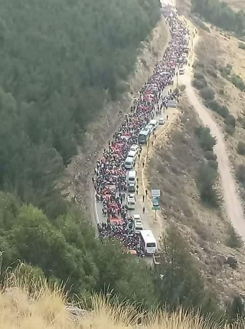 Perú: «Porque esta gran humanidad ha dicho: «¡Basta!» y ha echado a andar»