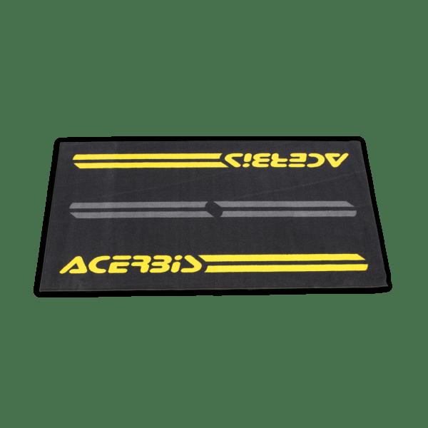 tapis environnemental acerbis noir jaune