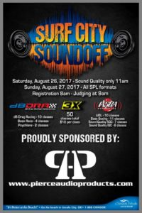 Pierce Audio Products Surf City Soundoff
