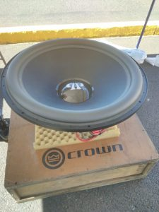 "Series 12k 33"" with JBL Crown"
