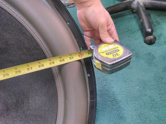 "Series 12k 33"" Measurement"