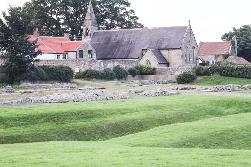 The Roman Fort at Piercebridge