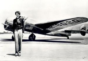 Amelia Earhart Lockheed Electra Airplane