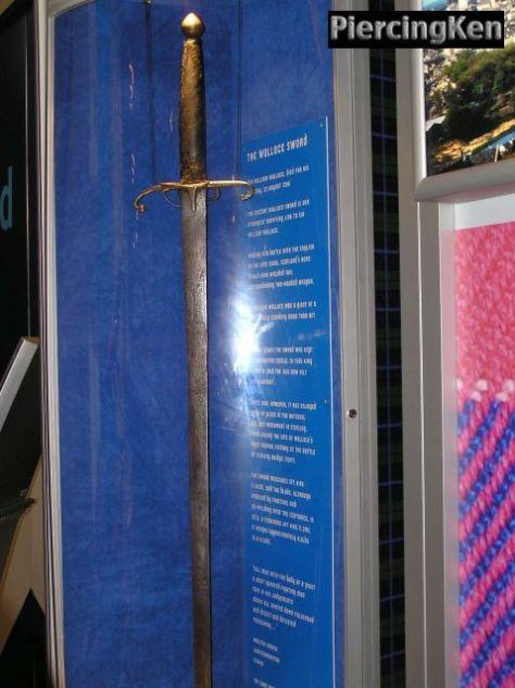 william wallace sword, scottish history