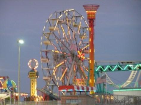 steel pier, steel pier amusement part, atlantic city new jersey