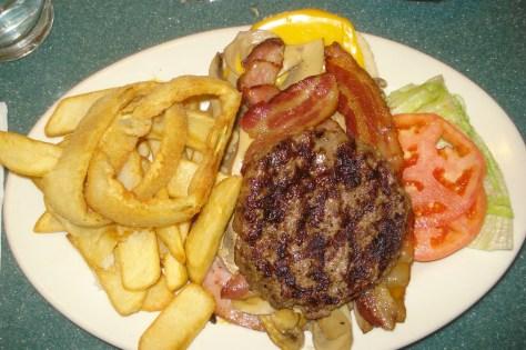 Bridgeview Diner Bacon Cheeseburger Deluxe