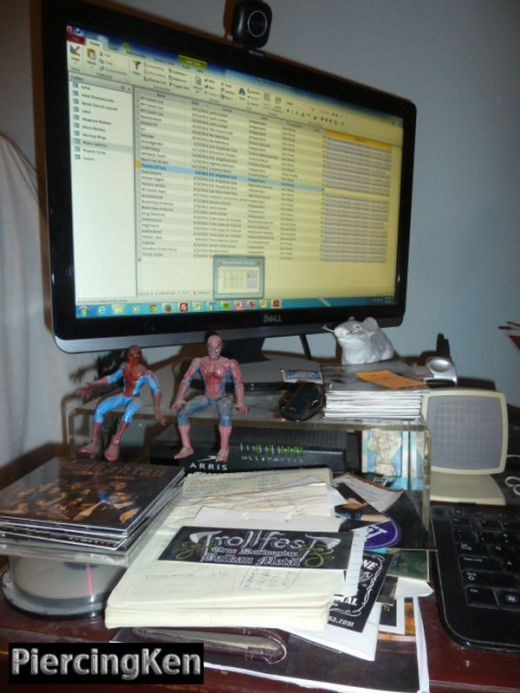 computer gear, metal office