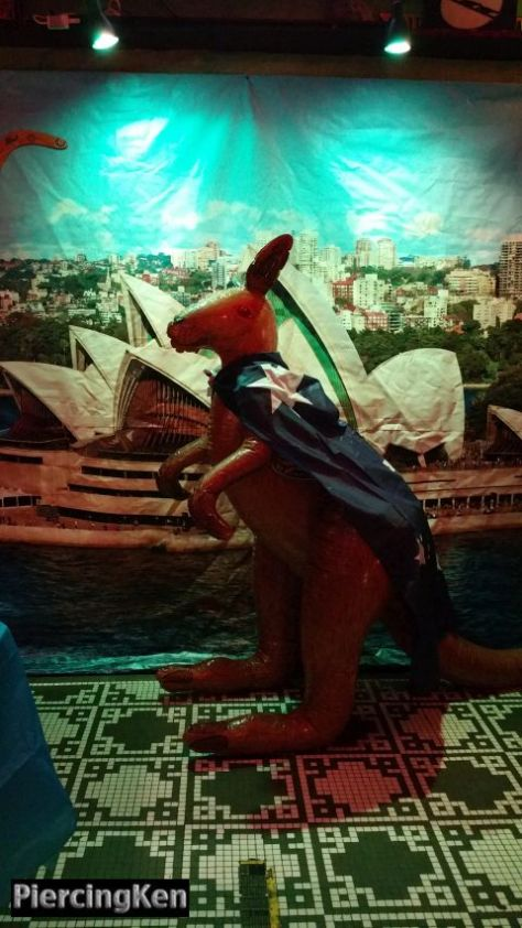 australia day 2017, his royal pieness, three jolly pigeons