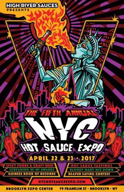nyc hot sauce expo, 2017 nyc hot sauce expo