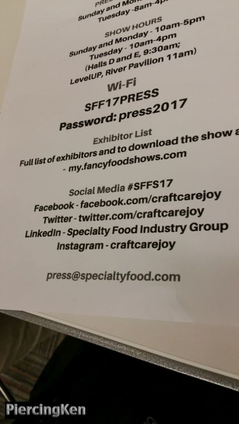 summer fancy food show, summer fancy food show 2017