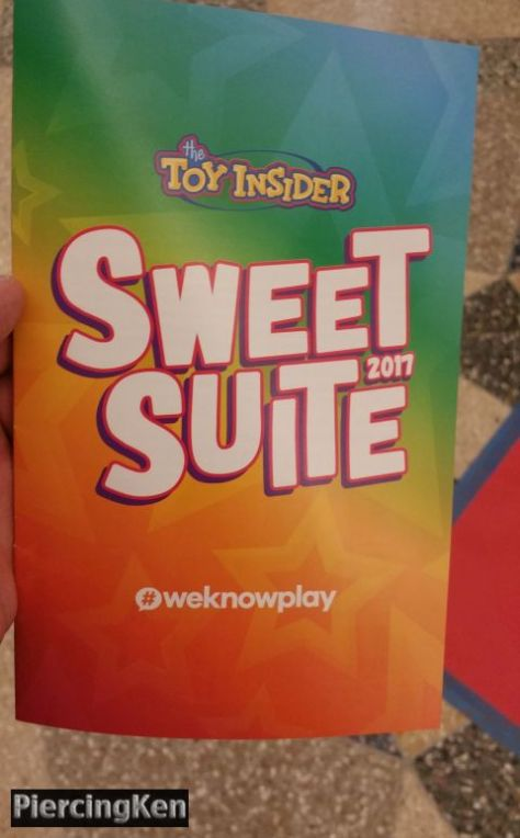 sweet suite 2017, toy insider, sweet suite
