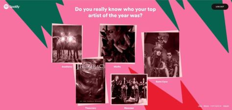spotify, 2017 wrapped