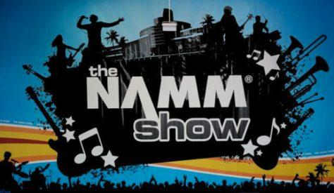 the namm show logo