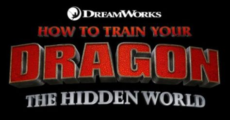 how to train your dragon the hidden world logo