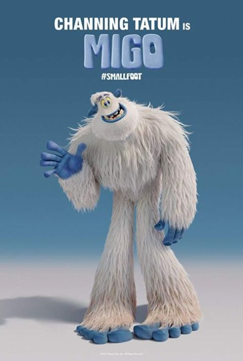 movie posters, warner animation group, warner brothers pictures, smallfoot