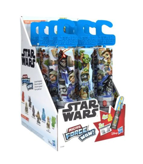 hasbro, hasbro toys, star wars micro force wow series, star wars toys, star wars collectibles