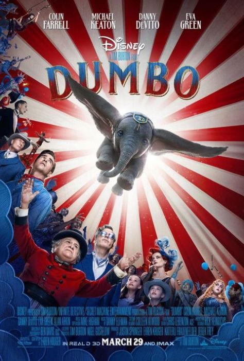 movie posters, promotional posters, walt disney pictures, dumbo