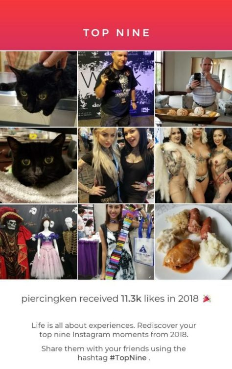 instagram, top nine, 2018 top nine