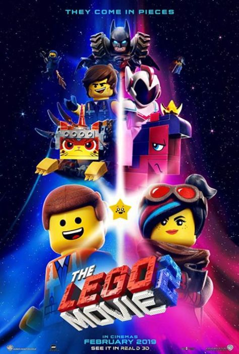 movie posters, promotional posters, warner brothers pictures, lego movie 2 the second part