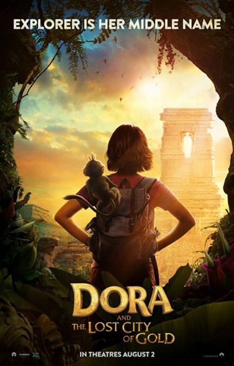 movie posters, promotional posters, paramount pictures, dora and the lost city of gold