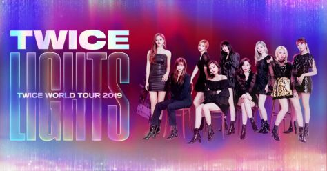 tour posters, twice, twice tour posters