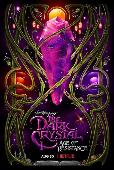 television posters, promotional posters, netflix, netflix original series, the dark crystal age of resistance
